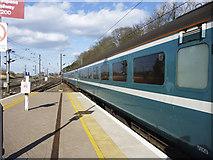 NT9953 : Long Train at Berwick-upon-Tweed Station by Christine Matthews