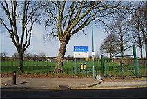 TQ7668 : Garrison Sports Ground, Marlborough Rd by N Chadwick