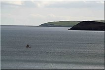 SX0551 : Looking out  to sea from Carlyon Bay  coast path by roger geach