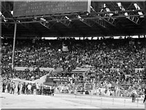 TQ1985 : The Tunnel End at the old Wembley Stadium by Steve Daniels