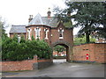 SP0582 : Gatehouse, St Pauls Convent by Roy Hughes