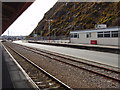 SM9538 : Fishguard Harbour Station by David Hawgood