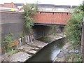 SP0786 : River Rea Alongside Floodgate Street by Roy Hughes