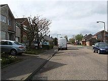 NT1969 : Street scene at Baberton Mains by James Denham
