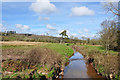 SN4915 : The Gwendraeth Fach upstream of the Pontydd Cydrych and Whitehall bridges south of Cwmisfael by Mick Lobb