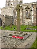 SD4983 : St Peter's Church, Heversham, War Memorial by Alexander P Kapp