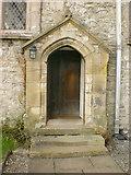 SD4983 : St Peter's Church, Heversham, Doorway by Alexander P Kapp