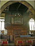 SD4983 : St Peter's Church, Heversham, Organ by Alexander P Kapp