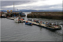 NH7867 : Cromarty harbour by Mike Pennington