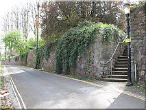 ST5773 : Steps to Brandon Hill Park by don cload