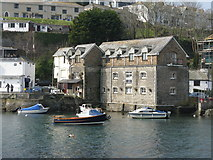 SX2553 : Former warehouses, West Looe by Dr Neil Clifton