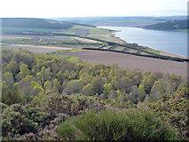 NH6751 : The woods and fields of Craigiehowe Mains by Julian Paren