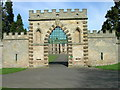 NT9437 : Gateway to Ford Castle by JThomas