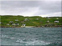 NB0936 : Cnip & Bhaltos from the sea by Andrew Curtis