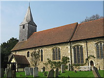 TQ5558 : Parish Church of St Mary the Virgin, Kemsing (2) by David Anstiss