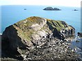 SM7923 : Gewni island from above by Richard Law