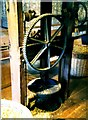 TQ7458 : Hop Press at The Museum of Kent Life by Oast House Archive
