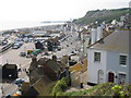 TQ8209 : Hastings Old Town and Seafront by Oast House Archive