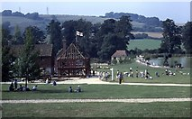 SU8712 : Weald & Downland Open Air Museum at Singleton by Barry Shimmon