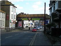 TQ7369 : Railway Bridge, London Road, Strood by Danny P Robinson