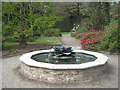 SW9147 : The Magnolia Fountain in Trewithen Gardens by Rod Allday