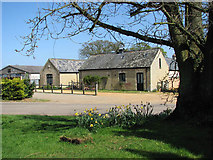 TF6303 : View across Church Lane by Evelyn Simak