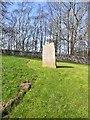 NT9204 : Sad Castle stone by Oliver Dixon