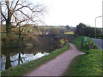 SS9712 : Tiverton : The Grand Western Canal & Tidcombe Bridge by Lewis Clarke