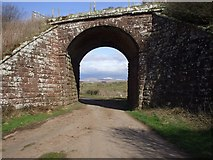 NY0106 : Archway, dismantled railway, Beckermet by John Lord
