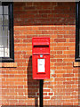 TM3864 : Post Office Kelsale Postbox by Geographer