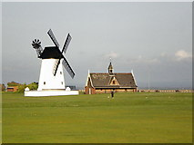 SD3727 : Lytham Windmill and Lifeboat Museum by Alexander P Kapp