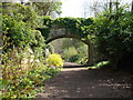 NY8261 : Two bridges in the Garden Station, Langley by Joan Sykes
