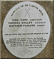 S9726 : 1798 commemoration plaque at Killurin church by David Hawgood