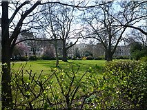 "TQ2882 : Park Square, a private garden or 'Square"" London N1 by J Taylor"