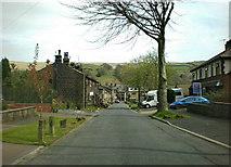 SD9321 : Ramsden Wood Road by Alexander P Kapp