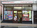 SS5147 : Crazy Cut Cards, No.140 The High Street, Ilfracombe. by Roger A Smith