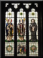 NY9365 : St. John Lee - stained glass window (2) by Mike Quinn