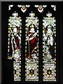 NY9365 : St. John Lee - stained glass window (3) by Mike Quinn