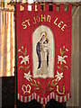 NY9365 : St. John Lee - embroidered banner by Mike Quinn