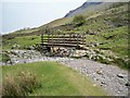 NY2311 : Ford and footbridge in Seathwaite by Peter Johnson