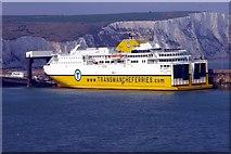 TR3341 : MV Côte d'Albâtre at Dover by Tiger