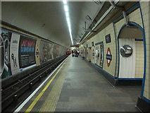 TQ3287 : Manor House tube station, Eastbound Platform 1 by Oxyman