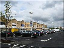 NT3071 : Retail park near Niddrie in Edinburgh by James Denham