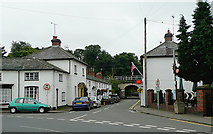SJ9922 : Trent Lane in Great Haywood, Staffordshire by Roger  Kidd