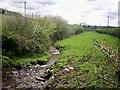 SN1421 : Stream near Rhiw, Login by welshbabe