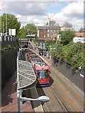 SO9596 : Bilston Central, tram by Mike Faherty