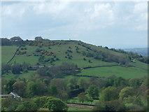 SJ9377 : Kerridge Hill and White Nancy by Peter Taylor