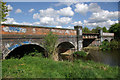 SK7318 : Railway bridge over the River Wreake by Stephen McKay