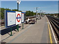 TQ1683 : Perivale Underground Station, Central Line by David Hawgood