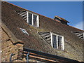 TQ3882 : Shed dormers of House Mill by Oast House Archive